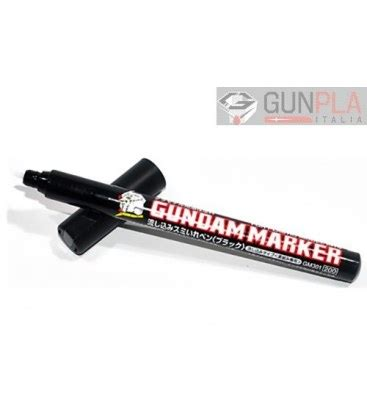 Gundam Marker Thin Type Black Gm301 gundam marker gm301 black gunpla italia