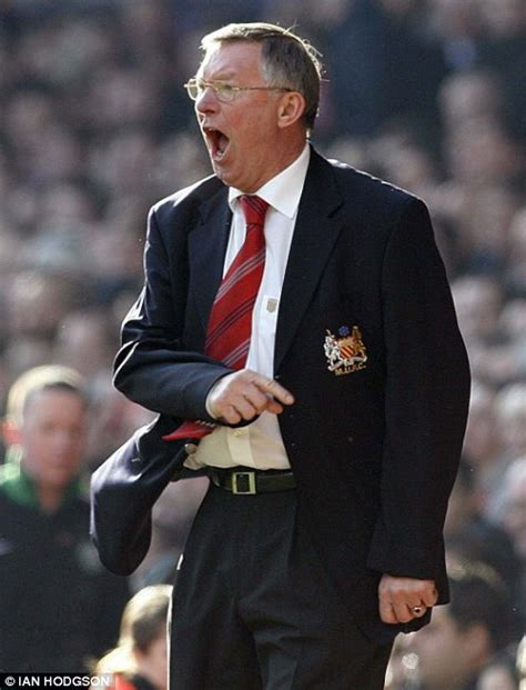 Hairdryer Ferguson sir alex ferguson a genius yes but he is also a lout daily mail