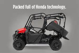 Honda Pioneer 700 4 Accessories 2016 Honda Pioneer 700 4 Review Of Specs Development
