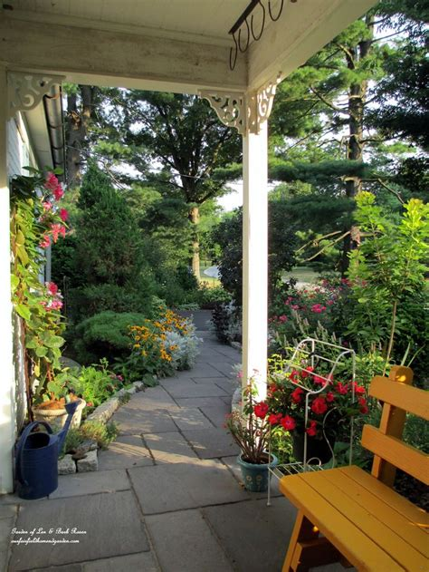 garden cottage fairfield from a porch swing garden of len barb http