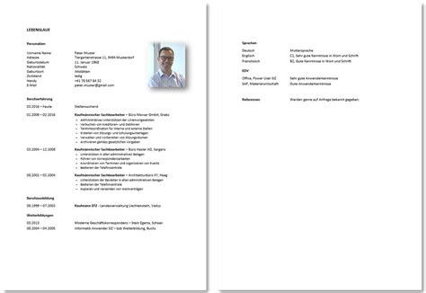 Schweizer Lebenslauf Muster Lebenslauf Und Motivationsschreiben Vorlage Berufst 228 Tige Konservativ Diejobberater