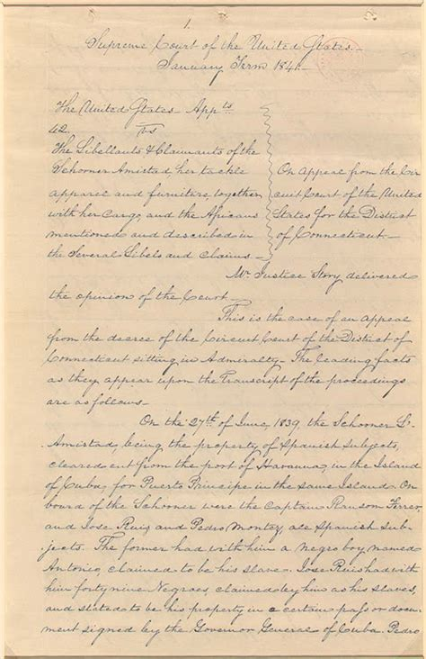 Amistad Essay by American Odyssey Slavery The Peculiar Institution Part 2