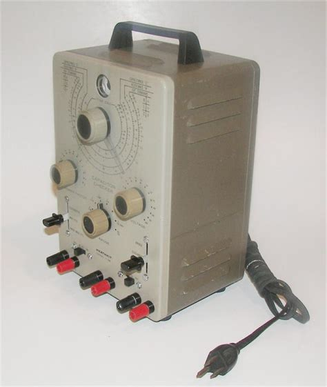 heathkit capacitor checker model it 28 heathkit capacitor tester model it 28 ebay