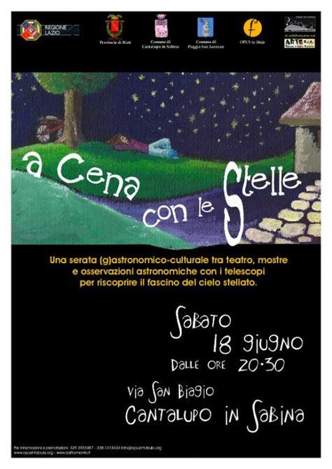 co dei fiori roma come arrivare a cena con le stelle cantalupo in sabina 18 giugno 2011