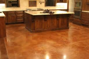 diy kitchen floor ideas stained concrete floors kitchen tedx decors the