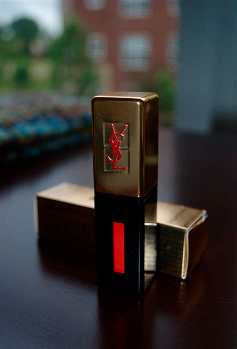 Ysl Glossy 1 beyond the pale and freckled yves laurent glossy stain in 8 orange de chine