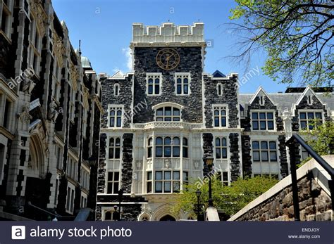 museum of the city of new york gothic revival house new york city clock tower of neo gothic harris hall at
