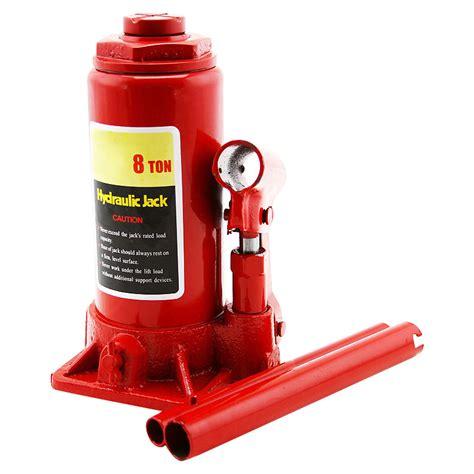Jacks, Lifts & Hydraulics - 8 Ton Hydraulic Bottle Jack ... Hydraulic Car Bottle Jack