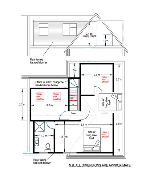 Dormer Extension Plans How Big Can A Dormer In A Loft Conversion Be My Extension