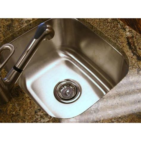 stainless steel undermount kitchen sinks 14 inch stainless steel undermount single bowl kitchen