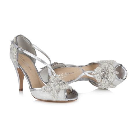 Ivory Shoes by Wedding Shoe In Ivory Lace By