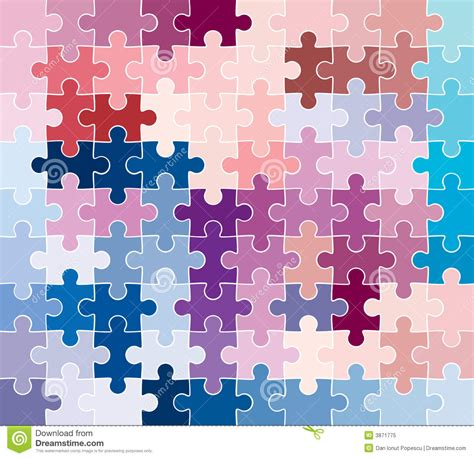 puzzle pattern ai jigsaw puzzle pattern stock vector image of business