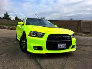 Electric Yellow Car Paint Image Srt8 Neon Yellow Sports Car Jpg Neon Colors