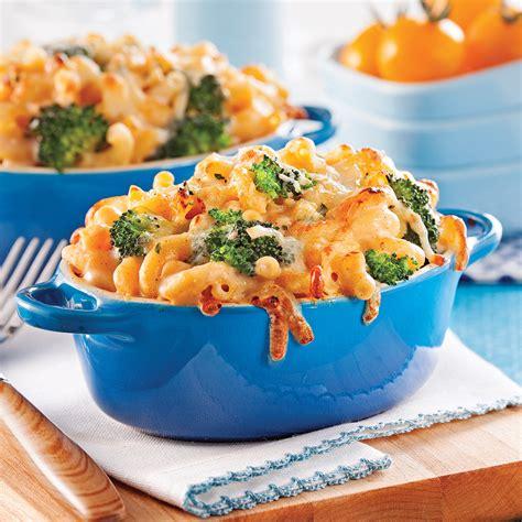 cuisine recettes pratiques cassolettes de macaroni au fromage recettes cuisine et