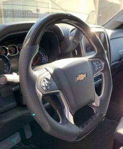 chevy silverado carbon fiber steering wheel