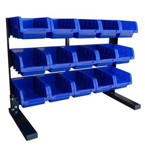 Shelf Organizer by 15 Small Parts Bin Storage Shelf Hobby Tools Rack