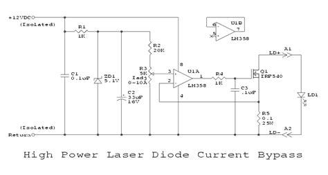 laser diode test circuit sam s laser faq ss laser testing adjustment repair