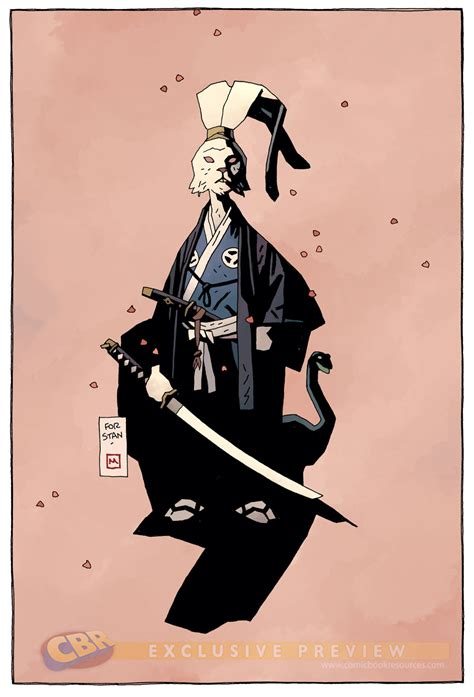 usagi yojimbo art by mike mignola geektyrant