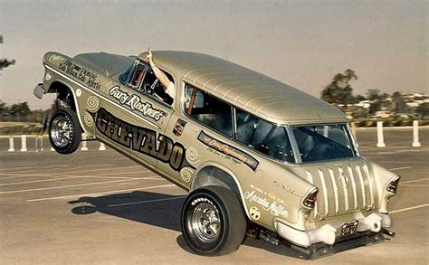 nomad drag car 55 chevy nomad nostalgia drag cars pinterest chevy