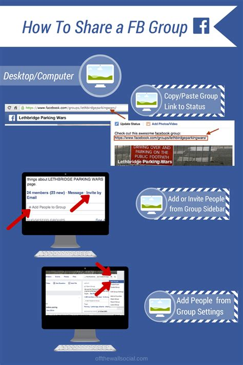 fb group how to share facebook groups graphics off the wall