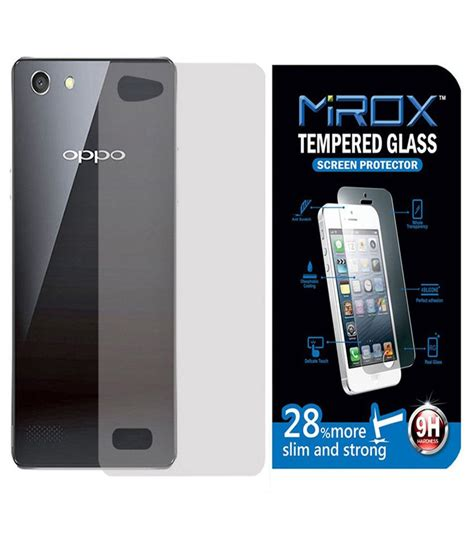 mirox tempered glass screen guard for oppo neo 7 4g with