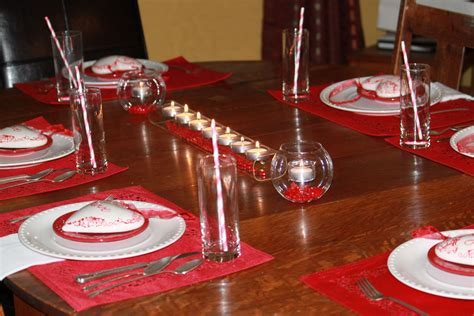 table themes in html christmas dinner table centerpieces home design