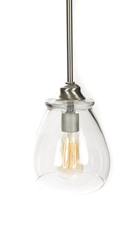 Edison Bulb Light Fixture Pendant Light Fixture Edison Bulb Brushed Nickel