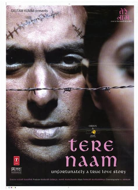 biography of movie tere naam tere naam 2003 salman khan hindi movie posters pinterest