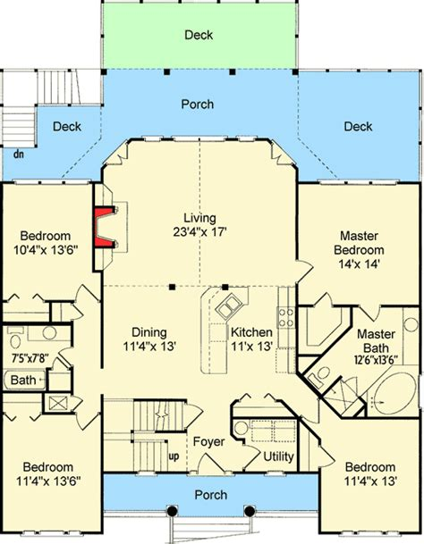 Low Country Floor Plans Gurus Floor