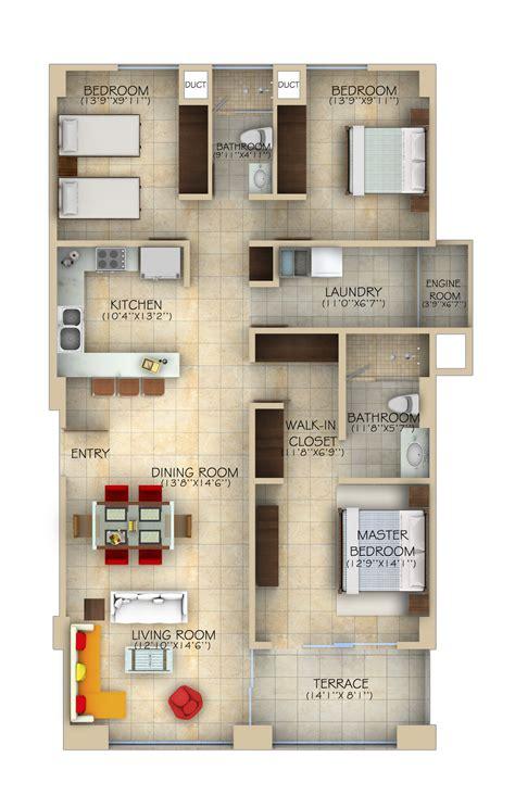 delmare 60 floor l planos de casas on house floor plans quartos