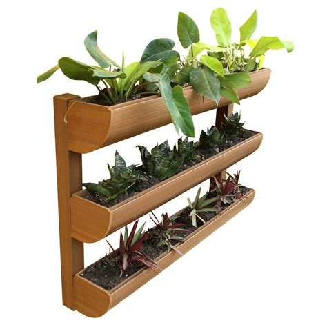 Wall Planters Home Depot by Coconut Fiber Vertical Wall Planters Pots Planters Garden Center The Home Depot