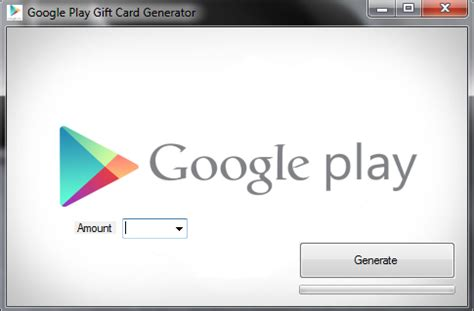 Free Google Play Gift Card Generator - google play gift card generator 2014 apk tool free download