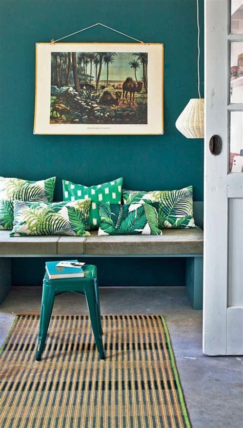 farbgestaltung wände beispiele wohnzimmer fliesen design
