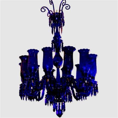 Cobalt Blue Chandelier Cobalt Blue Chandelier Blue Pinterest
