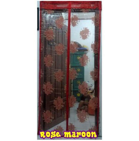 Tirai Glittertersedia Juga Tirai Magnet tirai pintu magnetic tirai magnet murah dan berkualitas