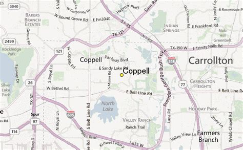 coppell texas map coppell weather station record historical weather for coppell texas