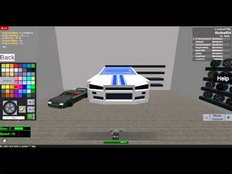 roblox street racing unleashed codes street racing unleashed how to make brian s skyline and a