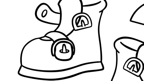 One, Two, Buckle My Shoe   Coloring Page   Mother Goose Club