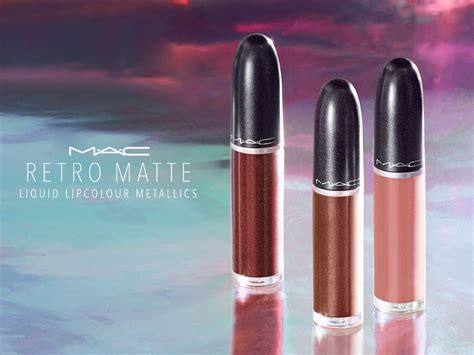 mac retro matte spice up your fall makeup lewks with mac s new metallic