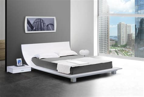 modern platform bed frame japanese style platform bed feel the home