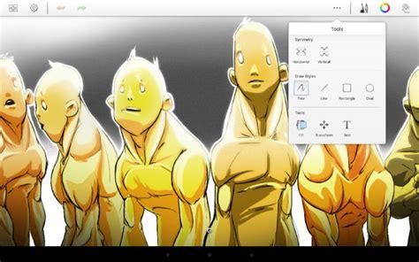 autodesk sketchbook zoom las 10 mejores aplicaciones para dibujar en android