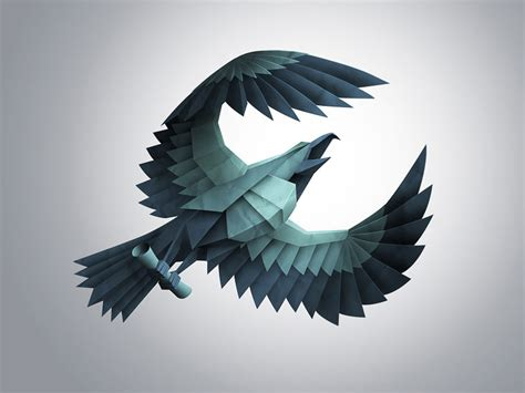 How To Make A Eagle Out Of Paper - 20 eagle logo design inspiration