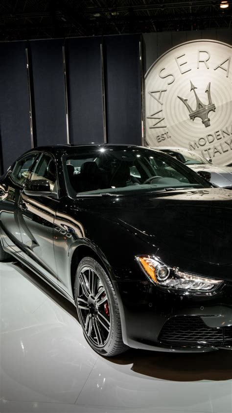 black maserati sports car wallpaper maserati ghibli nerissimo sport car black