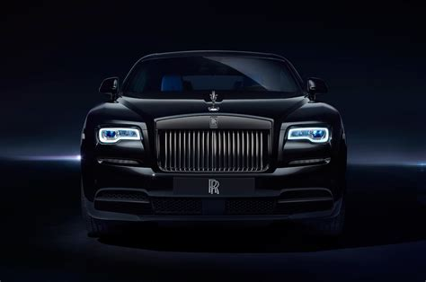 roll royce black rolls royce wraith black badge look rolling on