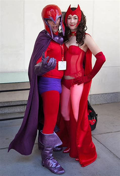 magneto  scarlet witch  cosplay