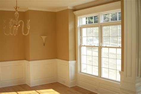 Wainscoting Around Windows Integrate Window And Door Trim With Wainscoting Panels