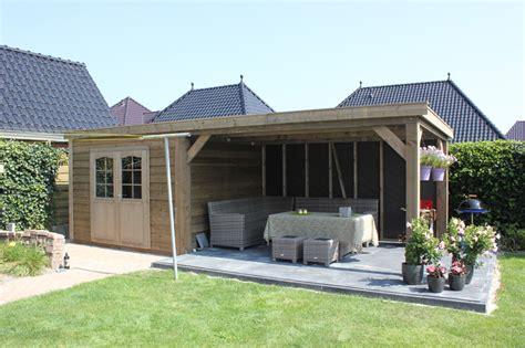 tuinhuis friesland tuinhuis overkapping houtbouw de bruin