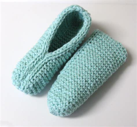 Modele De Pantoufle A Tricoter