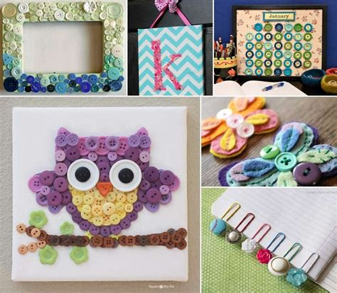 Projects For Your Room by 10 Diy Button Projects For Your