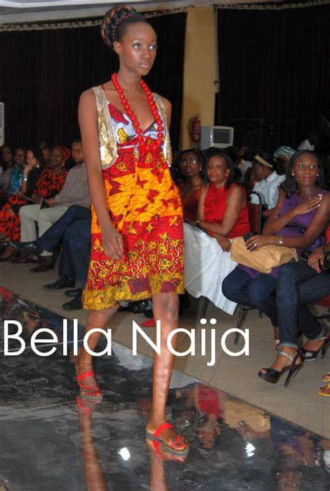 bella naija fashion show ituen basi presents ankara beads bellanaija